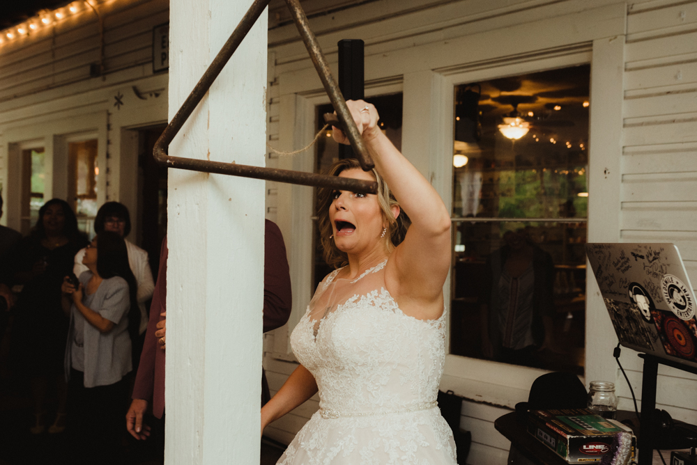 Twenty Mile House Wedding, photo of bride at twenty mile house