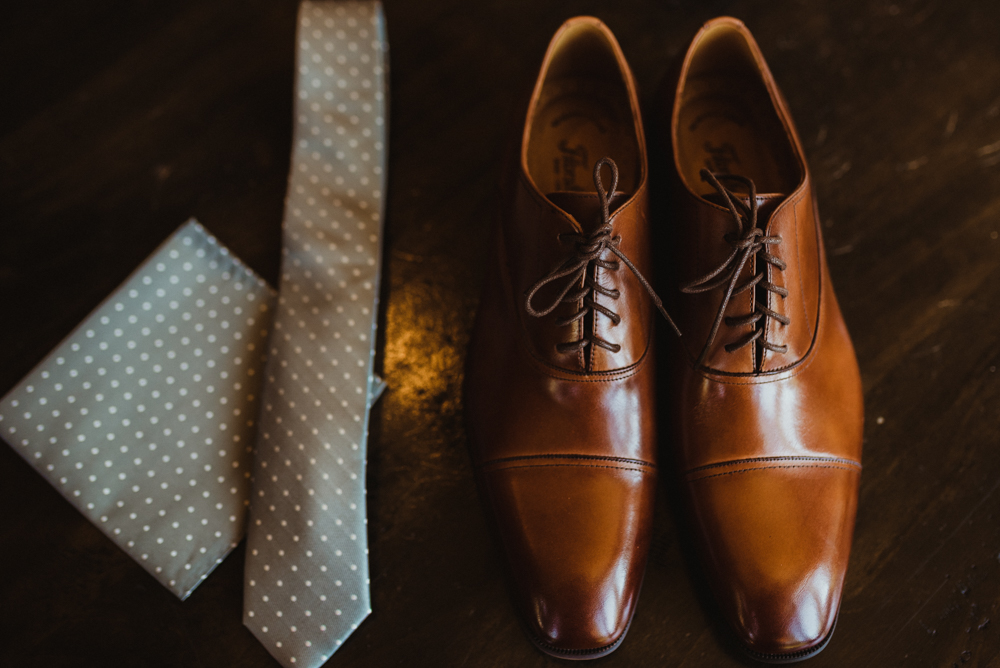 Martis Camp Wedding, photo of groom's shoes