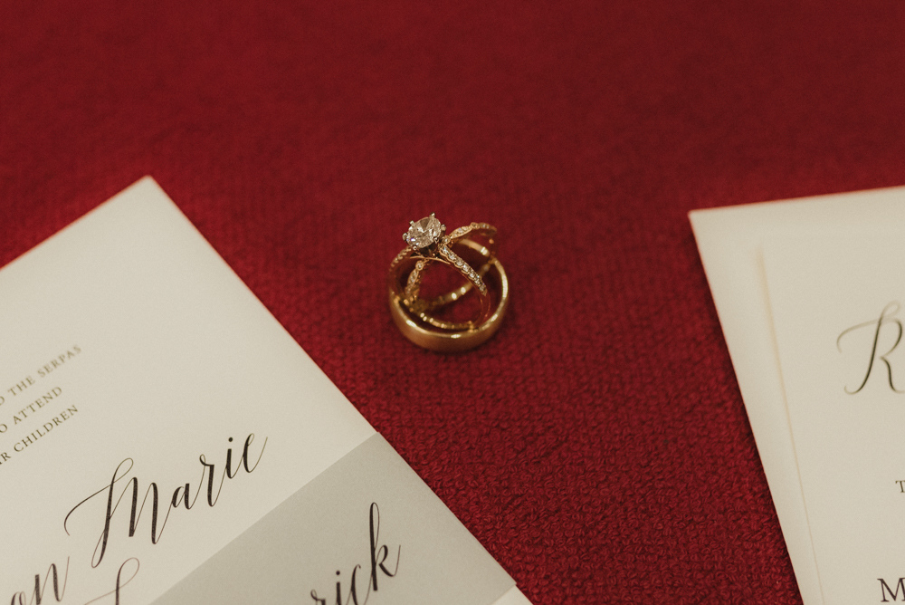 Martis Camp Wedding, photo of rings