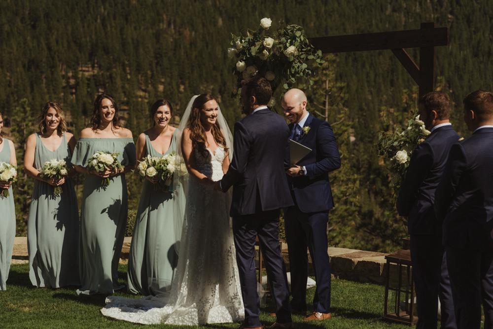 Martis Camp Wedding, ceremony photo