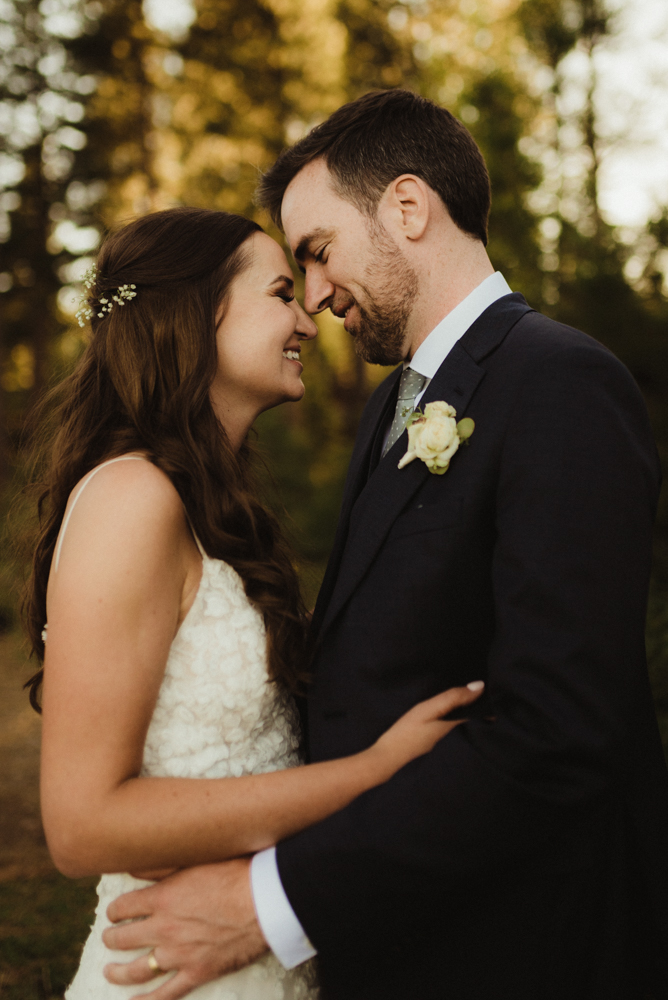Martis Camp Wedding, couple portrait