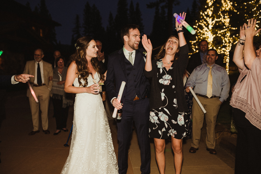 Martis Camp Wedding, reception photo
