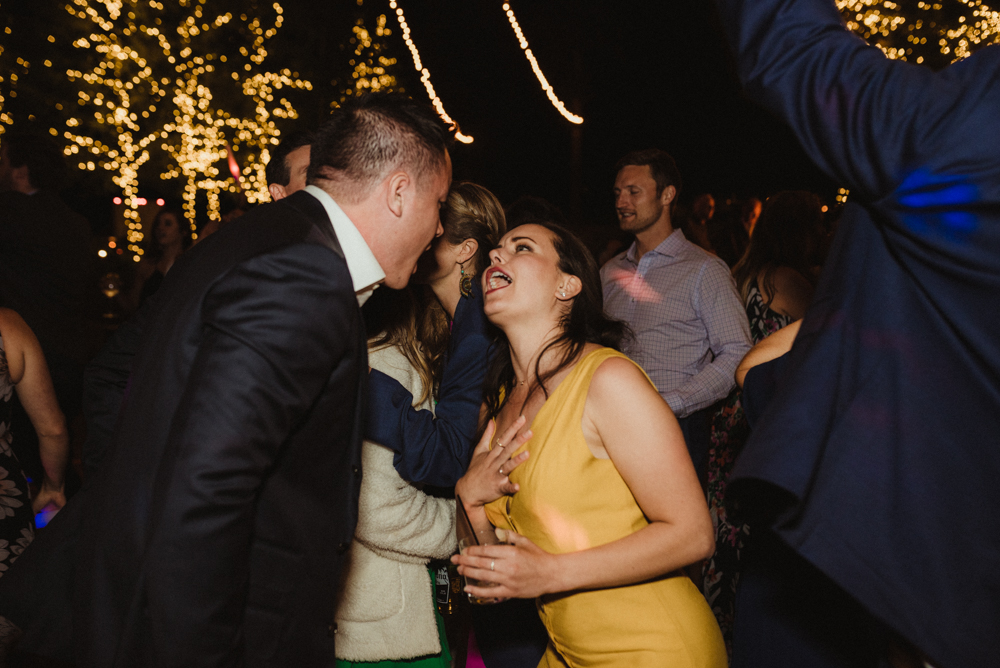 Martis Camp Wedding, guests dancing photo