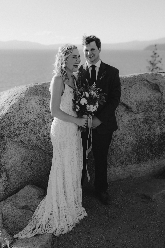 Lake Tahoe Elopement, photo of ceremony location