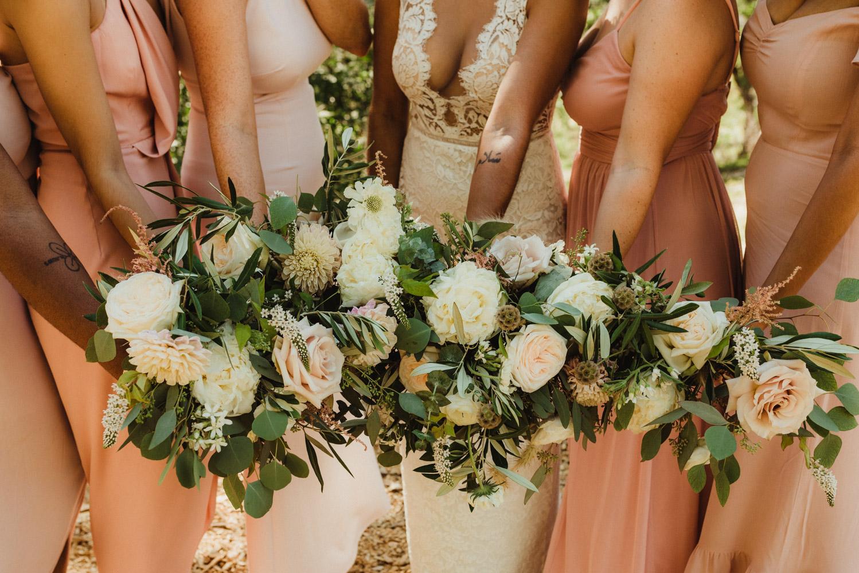 Rush Creek Lodge Wedding, photo of flowers