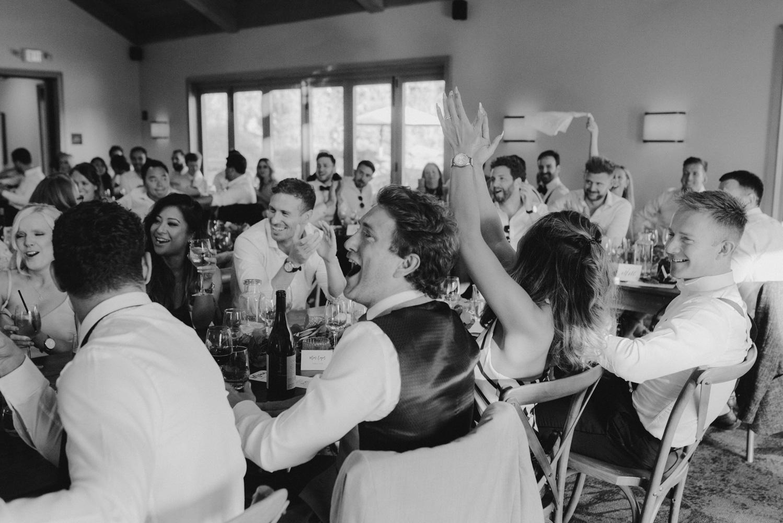 Rush Creek Lodge Wedding, reception photo