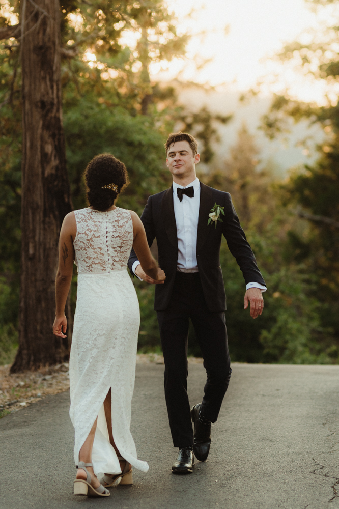Rush Creek Lodge wedding, groom photo