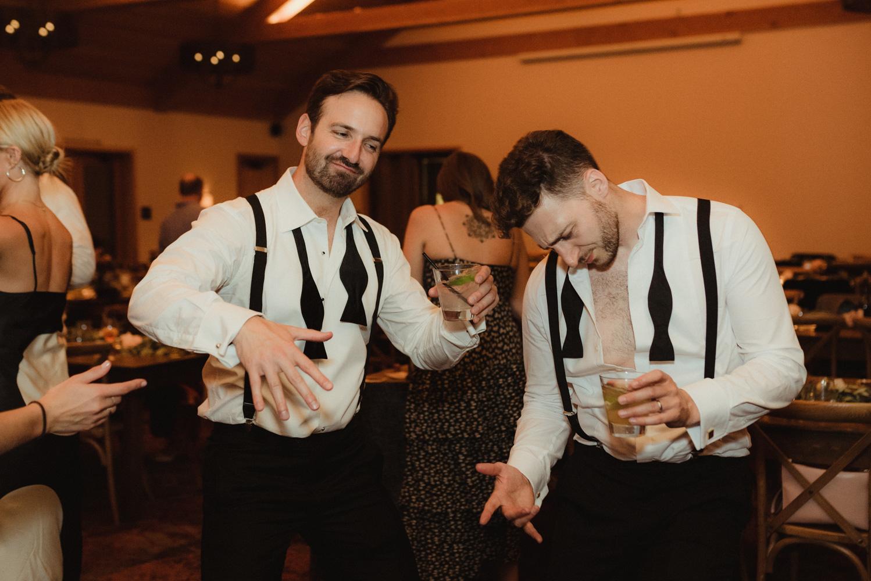 Rush Creek Lodge wedding, dance photos
