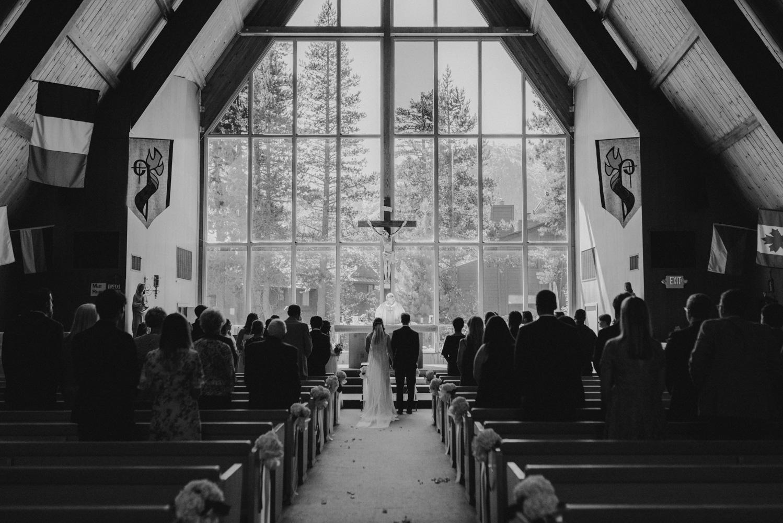 Hellman-Erman Mansion Wedding, photo of a wedding in a catholic ceremony