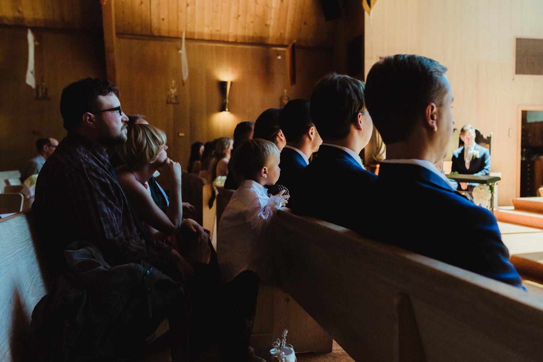 Hellman-Erman Mansion Wedding, photo of kid during church