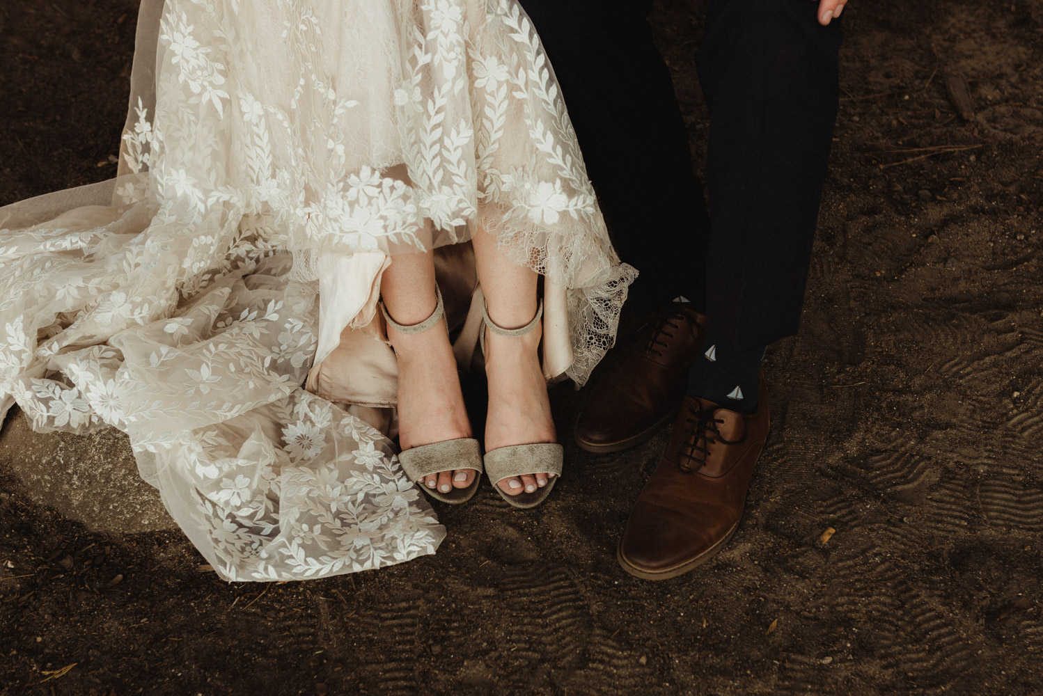 Hellman-Erman Mansion Wedding, photo of couples shoes