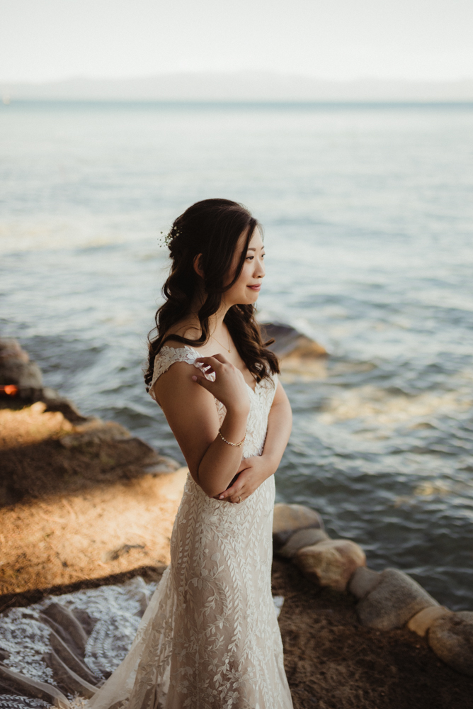 Hellman-Erman Mansion Wedding, photo of bride smiling