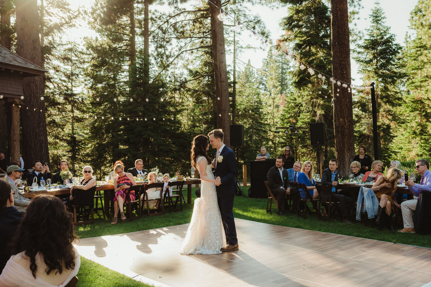 Hellman-Erman Mansion Wedding, photo of couple at their first dance