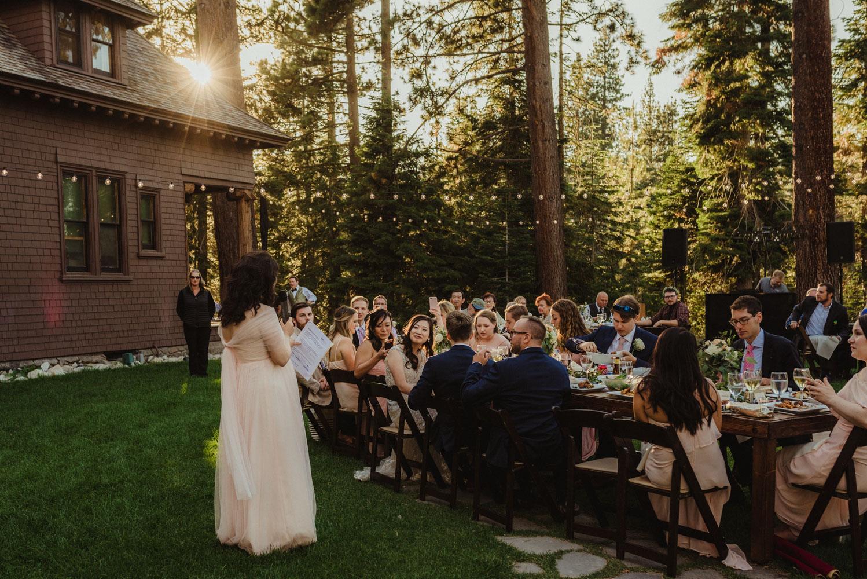 Hellman-Erman Mansion Wedding, photo of toasts