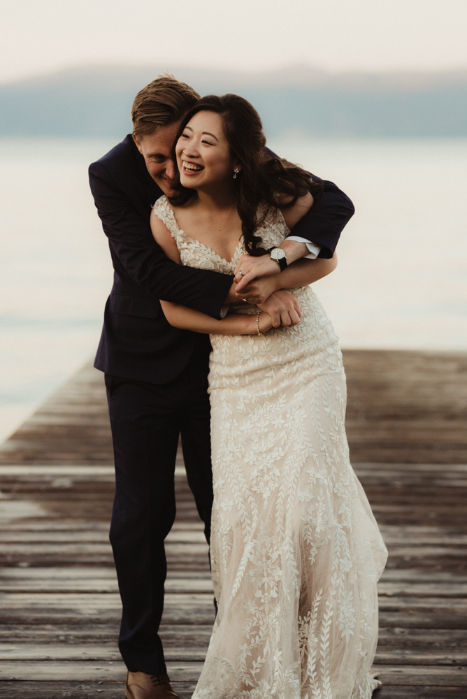 Hellman-Erman Mansion Wedding, photo of couple hugging