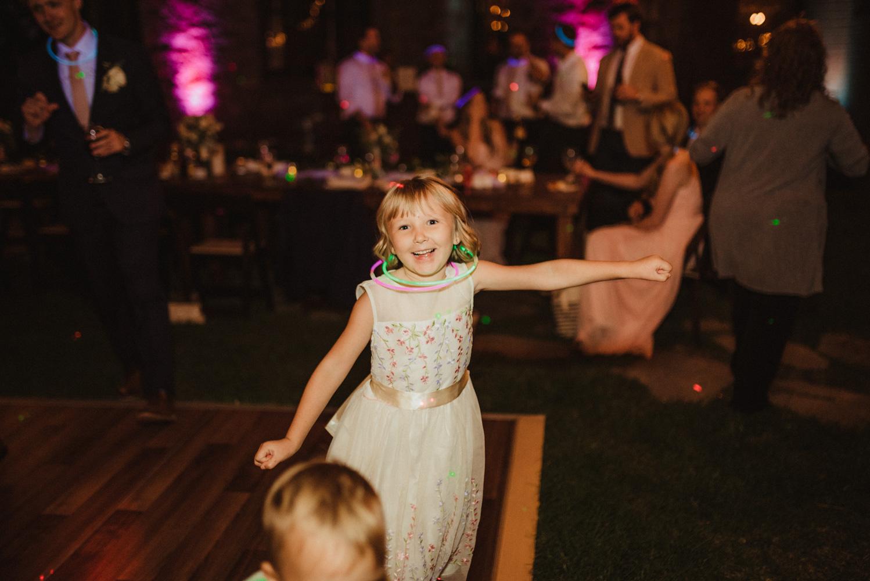 Hellman-Erman Mansion Wedding, photo of girl dancing