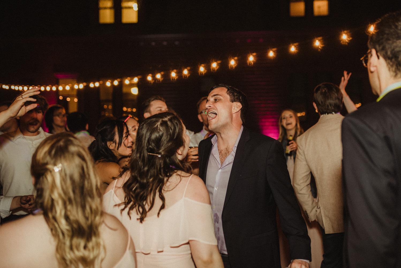 Hellman-Erman Mansion Wedding, photo of guests dancing