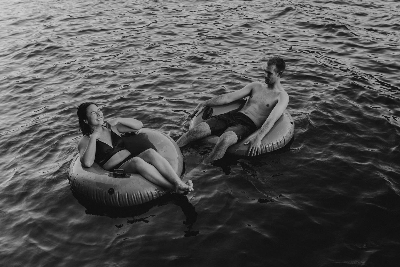 Lake Tahoe Wedding Photographer, photo of couple playing in the lake