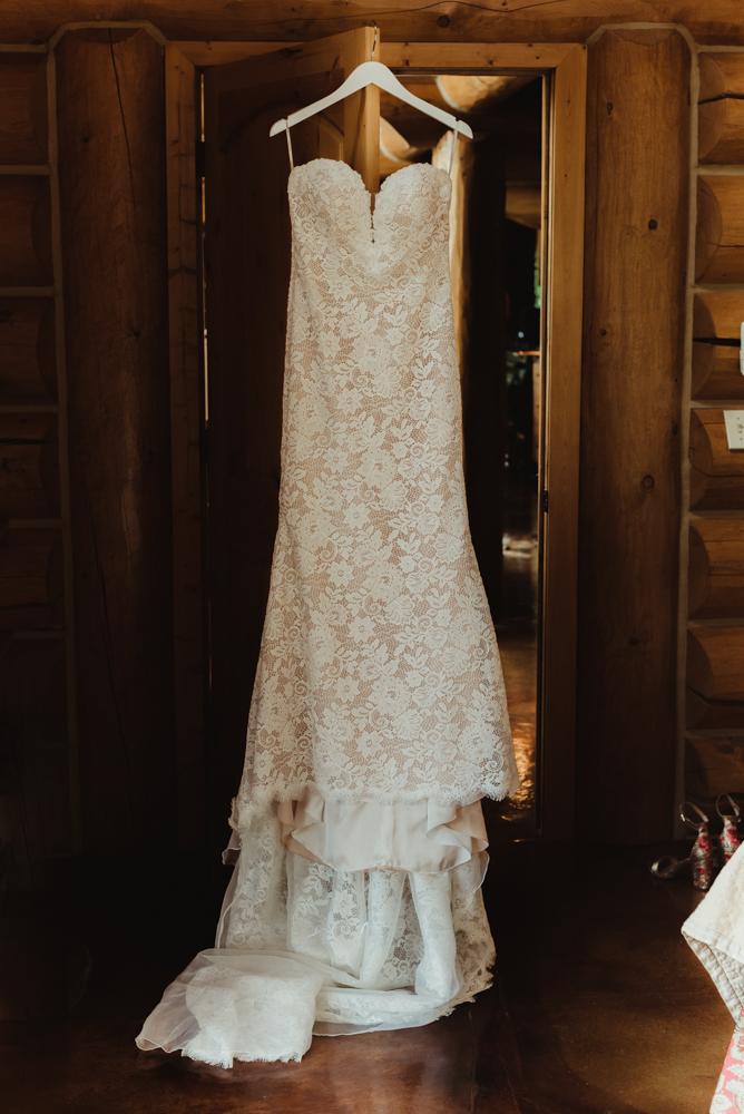Twenty Mile House Wedding Photographer, dress photo