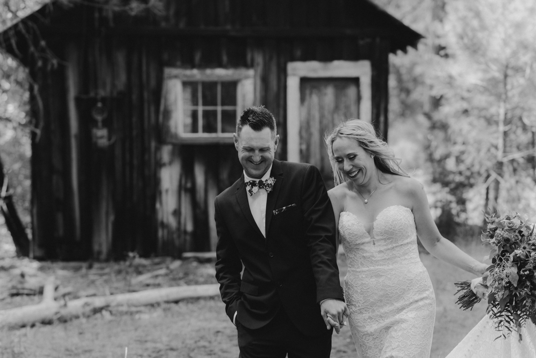 Twenty Mile House Wedding Photographer, candid photo of couple