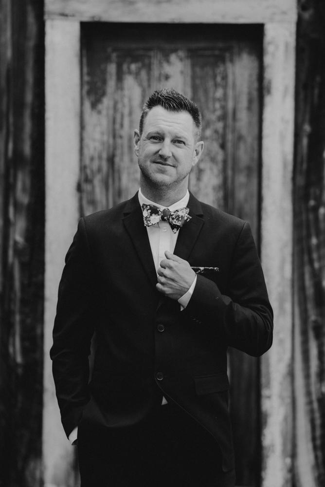 Twenty Mile House Wedding Photographer, photo of groom