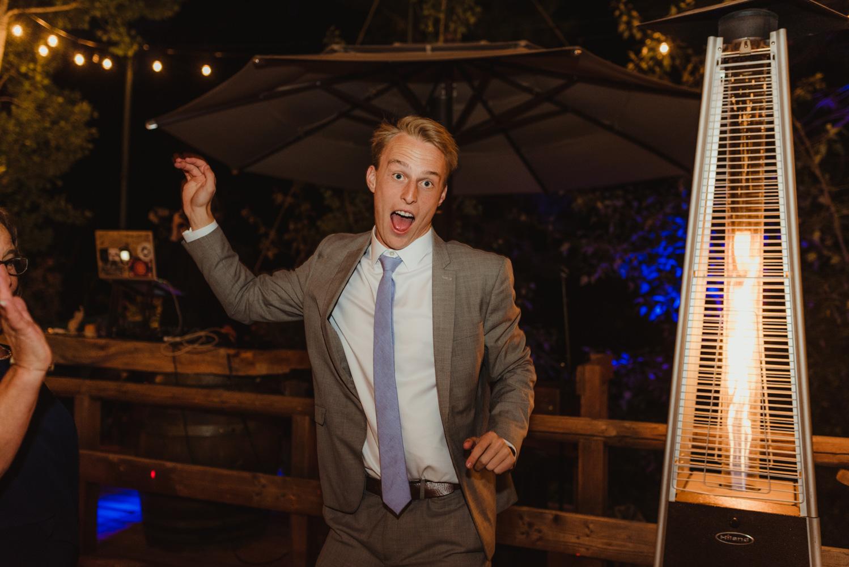 Twenty Mile House Wedding Photographer, photo of guest dancing