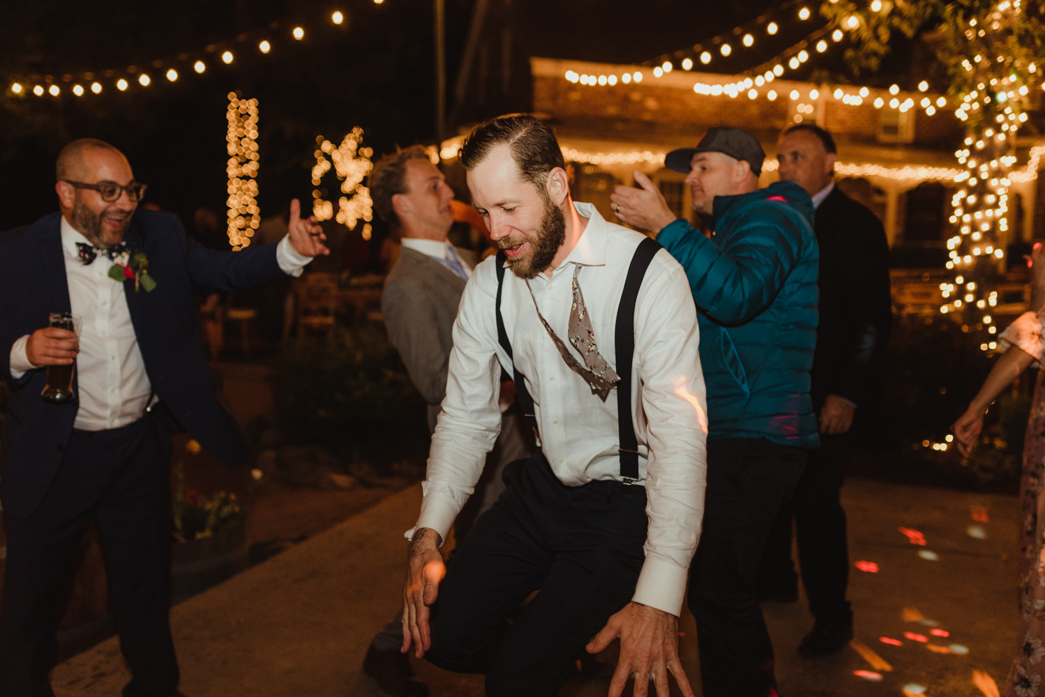 Twenty Mile House Wedding Photographer, photo of guest during the reception