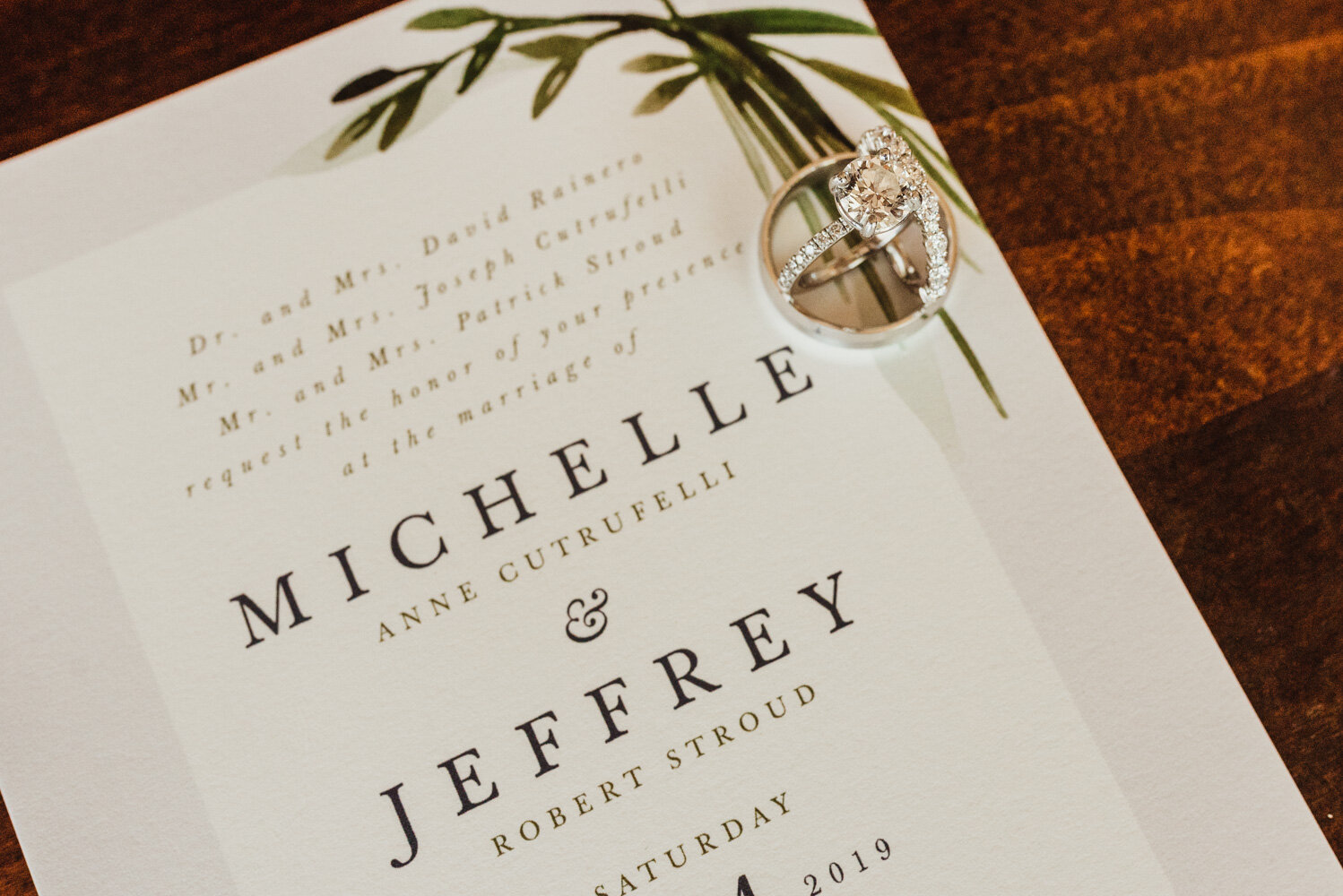 Edgewood Tahoe Wedding, wedding invite photo