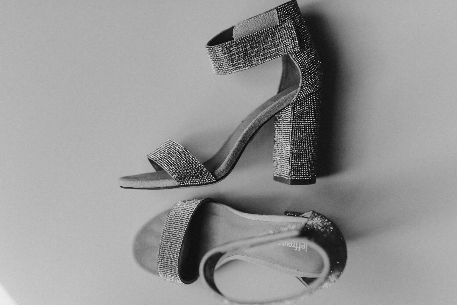 The Chateau Incline Village Wedding, photo of brides shoes