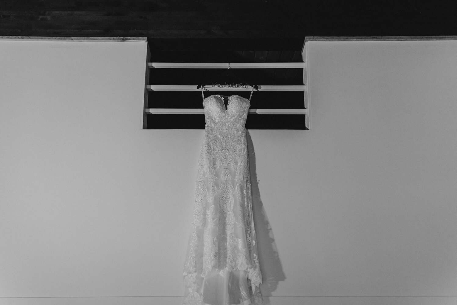 The Chateau Incline Village Wedding, photo of brides dress