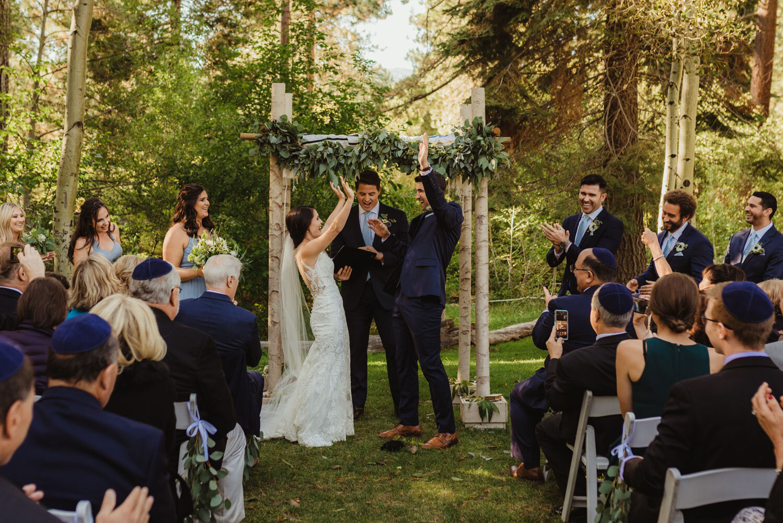 The Chateau Incline Village Wedding, jewish wedding photographer