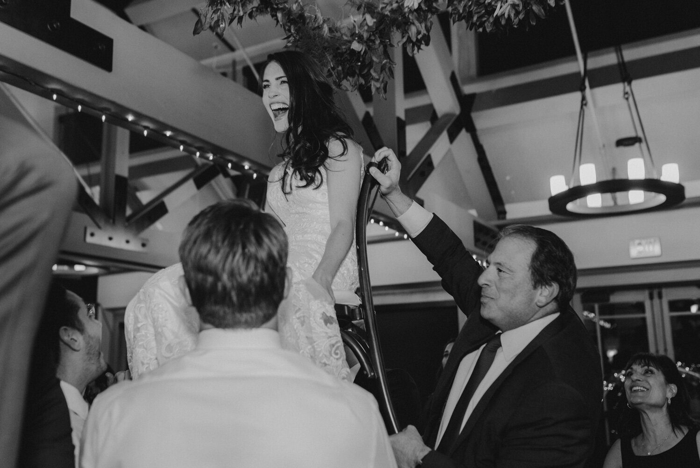 The Chateau Incline Village Wedding, jewish wedding photographer, photo of horah