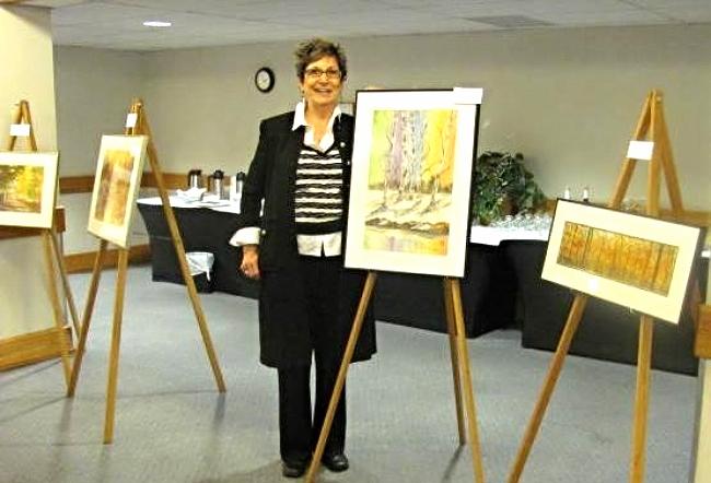 Artist Diana Templeton , Delta Inn South