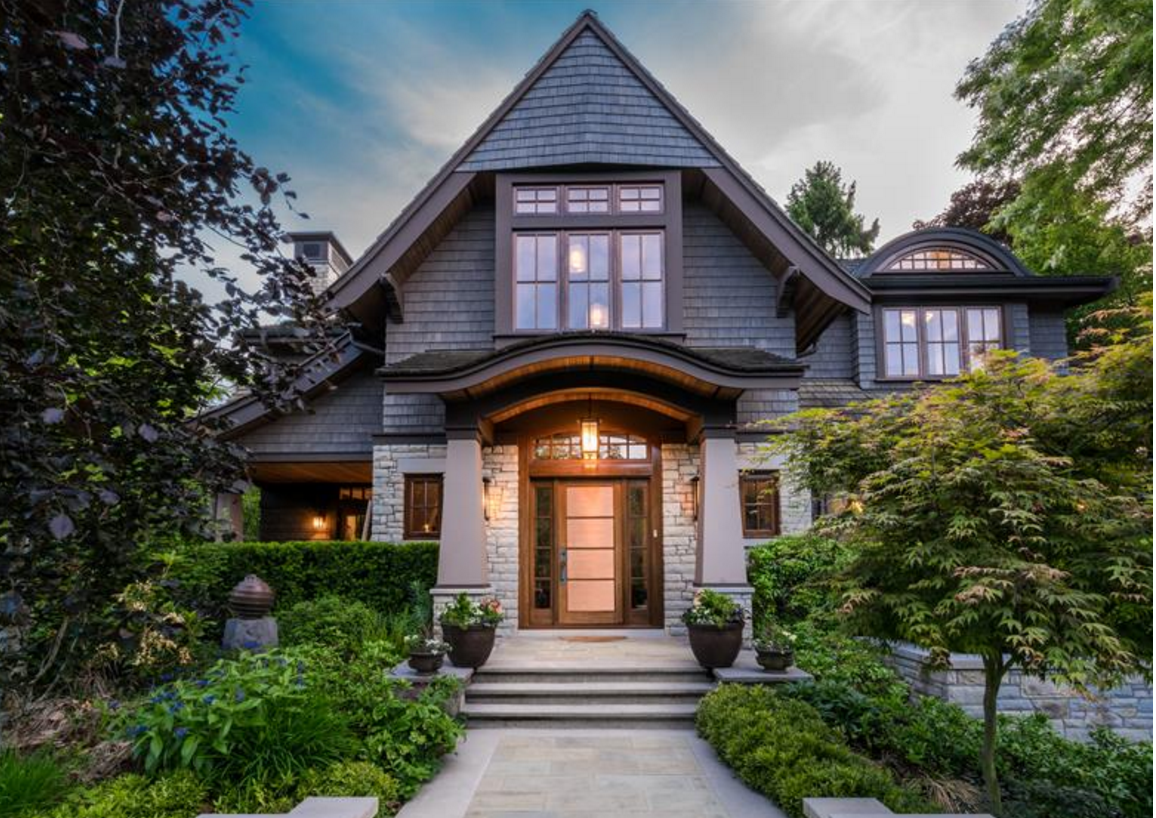 Anyone have $12 million? 1789 Acadia Road in Vancouver.  |   Source