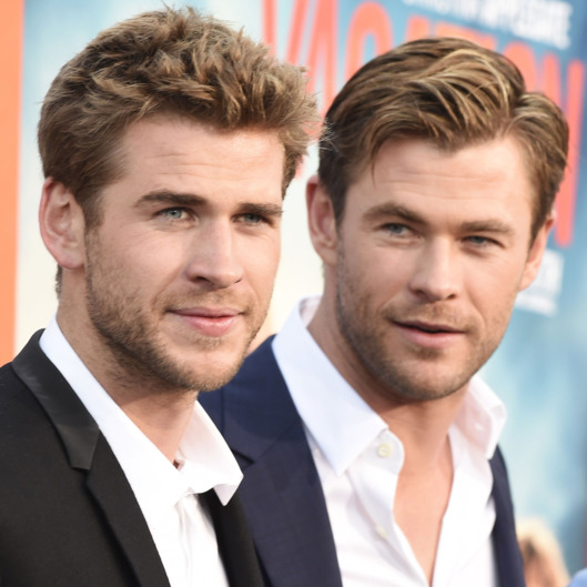 Liam ( left) and Chris Hemsworth, from  Vulture.    Source