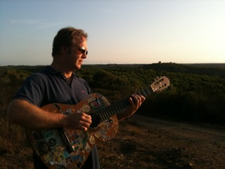 Cool guitar at sunset.jpg