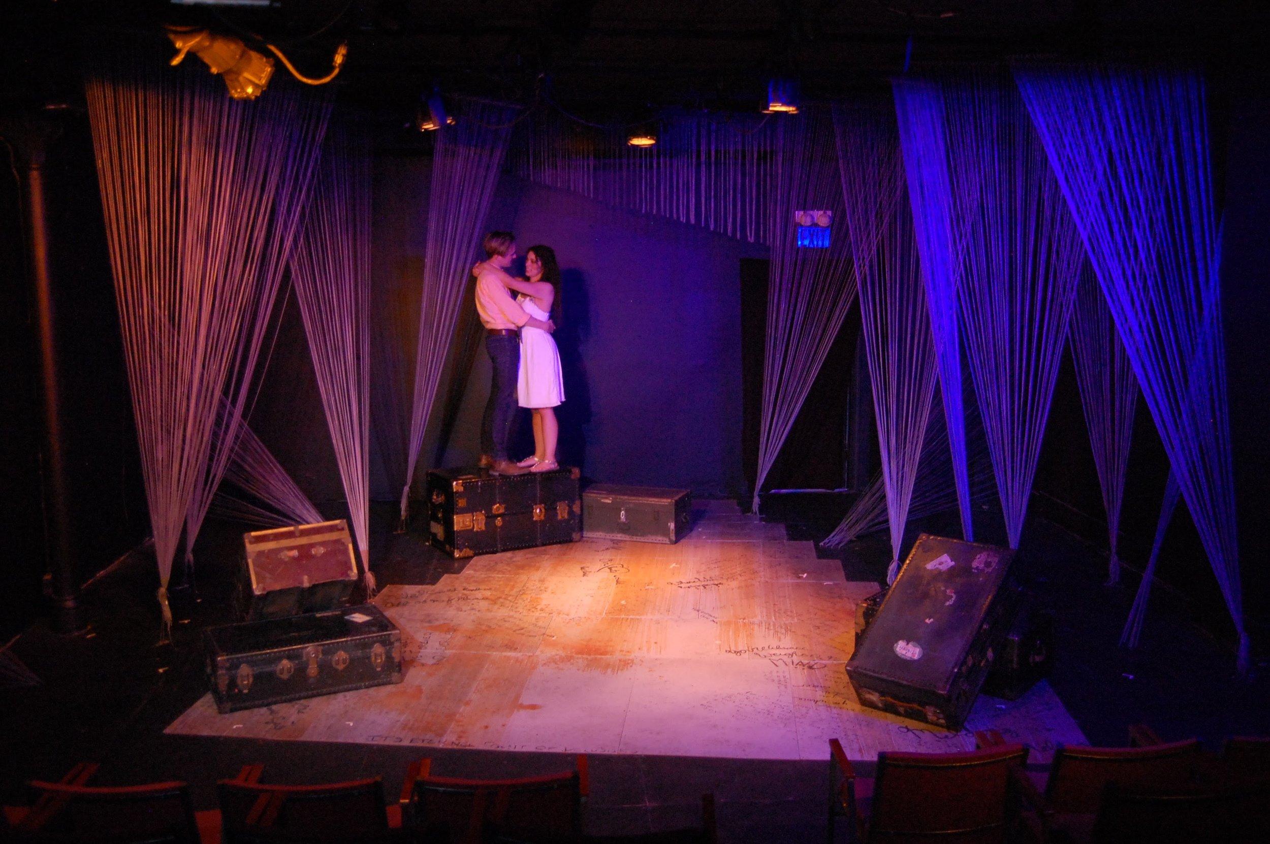Orpheus dances with Eurydice