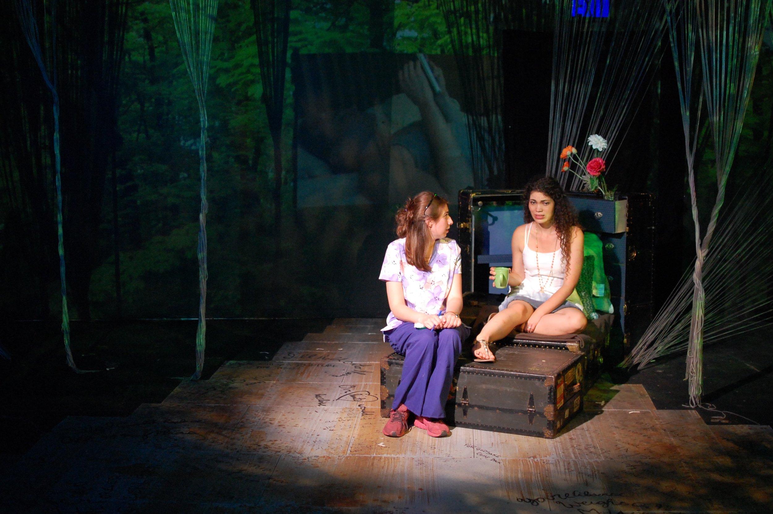 Eurydice confides in the nurse