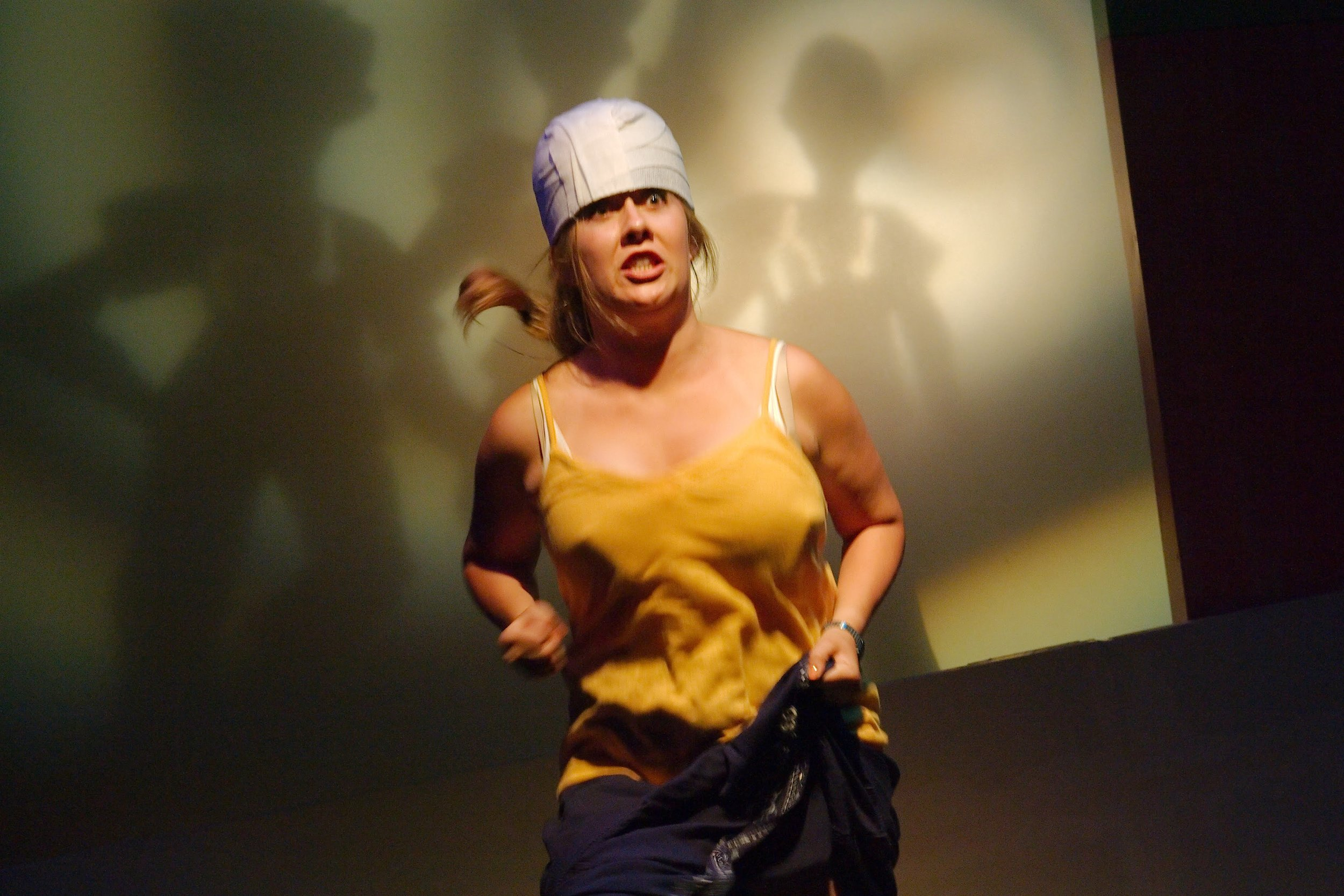 María Escapes the Male Nurses - Steph Vondell in FIREFLY LOVE (photo by Anthony Aicardi).jpg