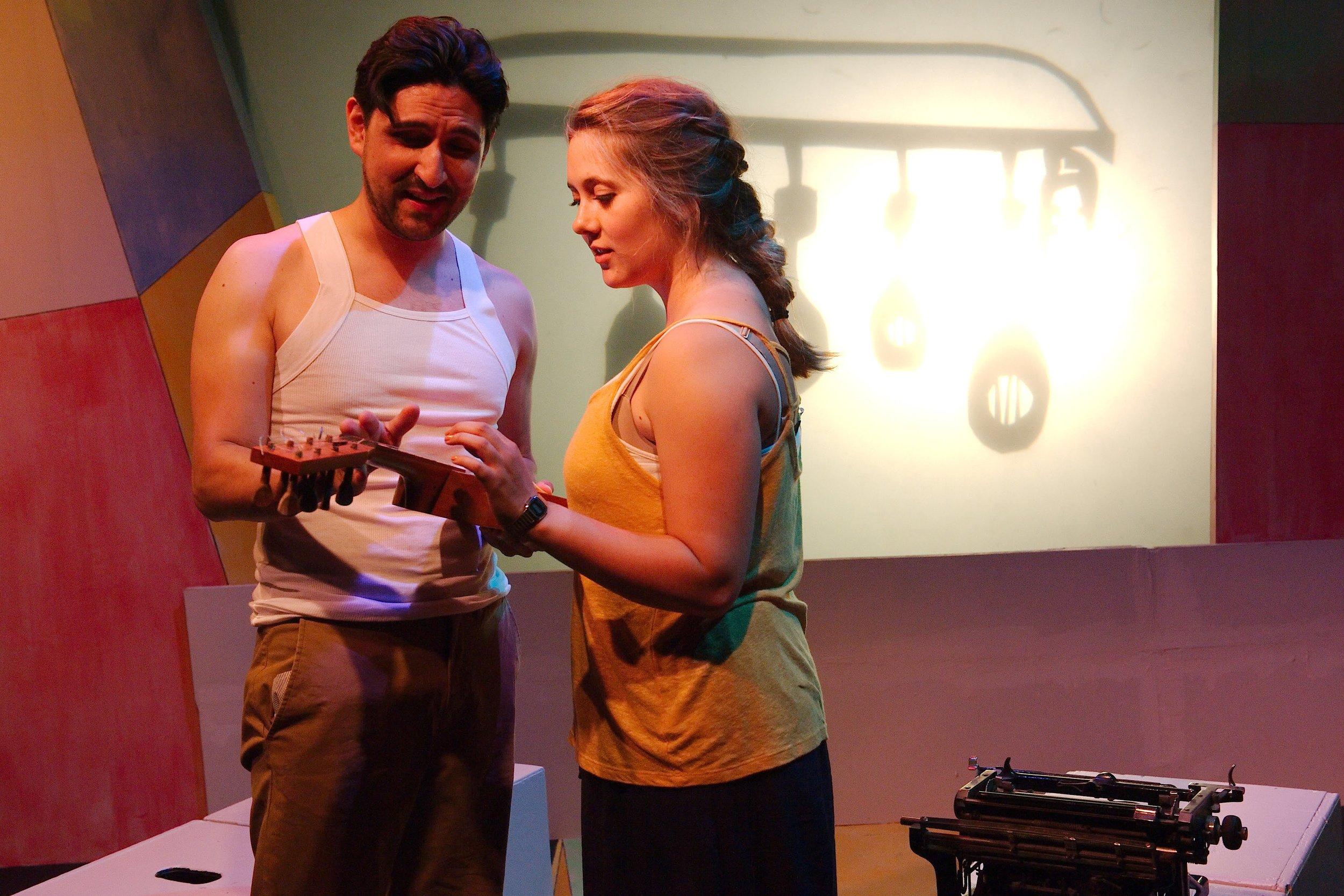 Ramón's Jarana Shop - Víctor Maraña and Steph Vondell in FIREFLY LOVE (photo by Anthony Aicardi).jpg