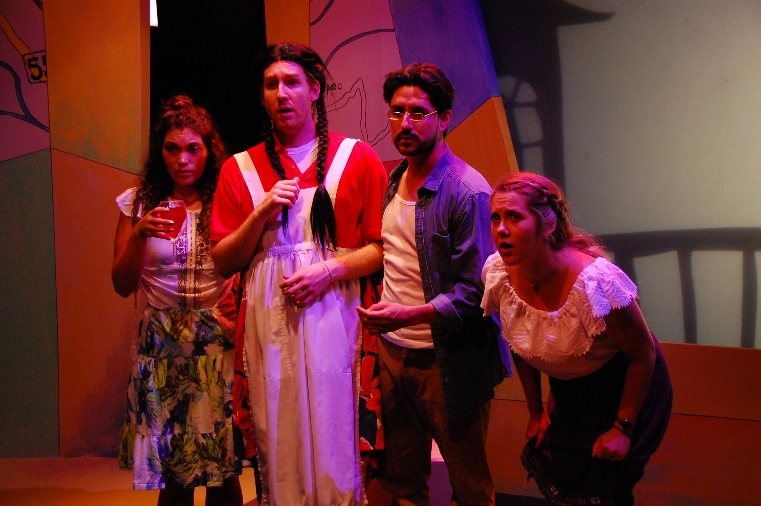 Allyce Torres, Martin Diaz-Valdes, Víctor Maraña, and Steph Vondell in FIREFLY LOVE (photo by Laura Nash).JPG