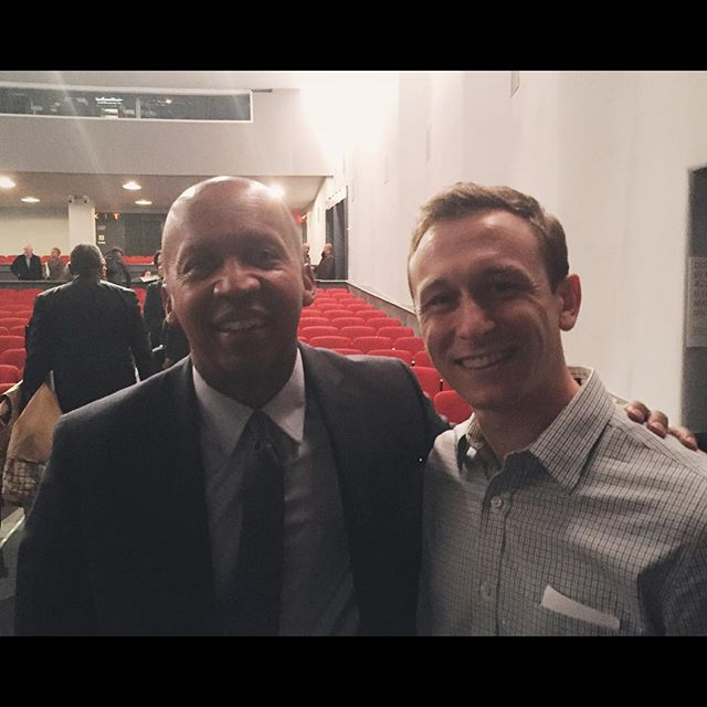 What a night -- got to meet a personal hero, Bryan Stevenson. A huge thank you to Anand and Bo for making it possible.