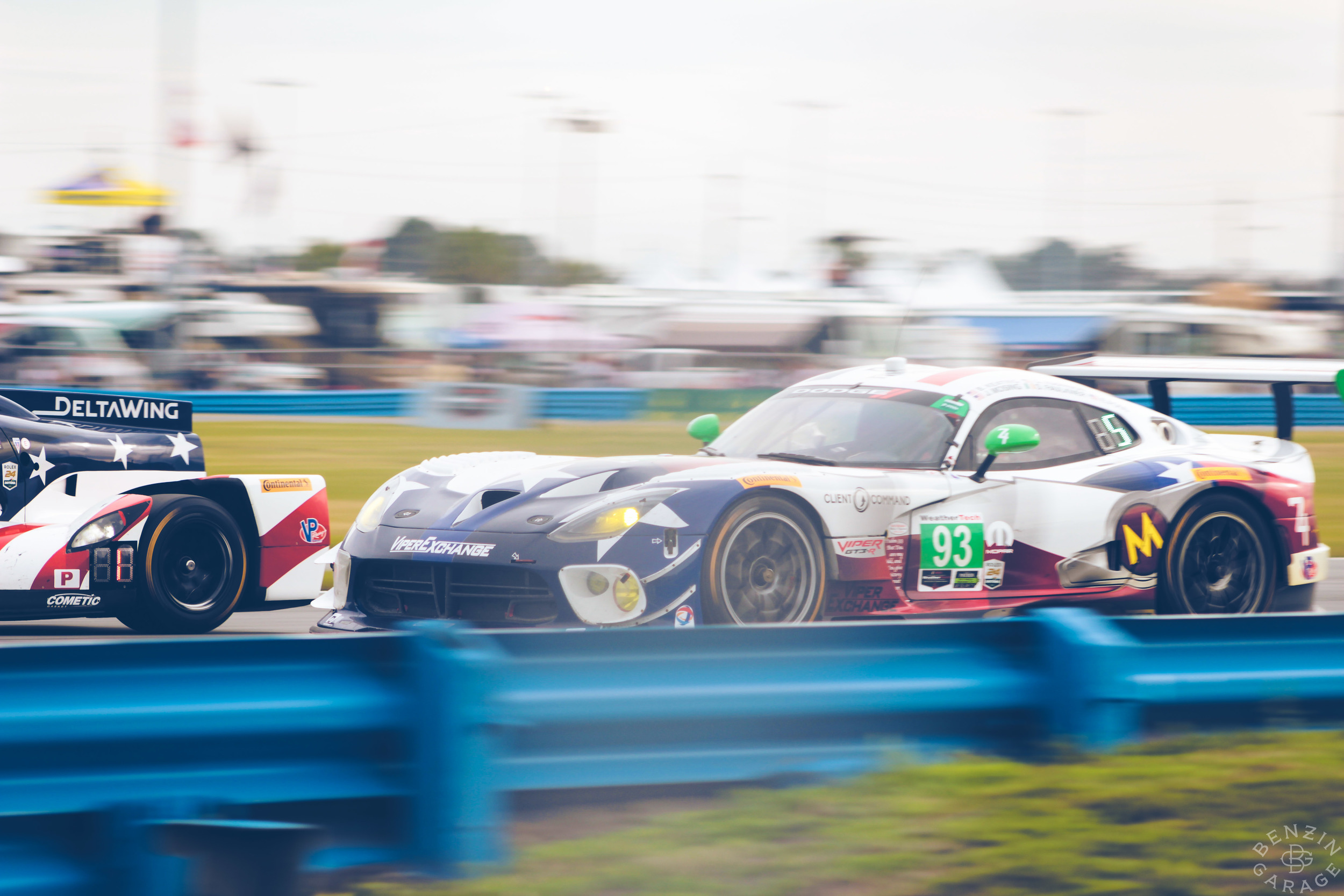 Even though the Viper factory team dropped the mic and withdrew from competition after winning the 2014 GTLM championship, the model still dominates in GTD.They even made an appearance at Le Mans last year, and are hoping to return.