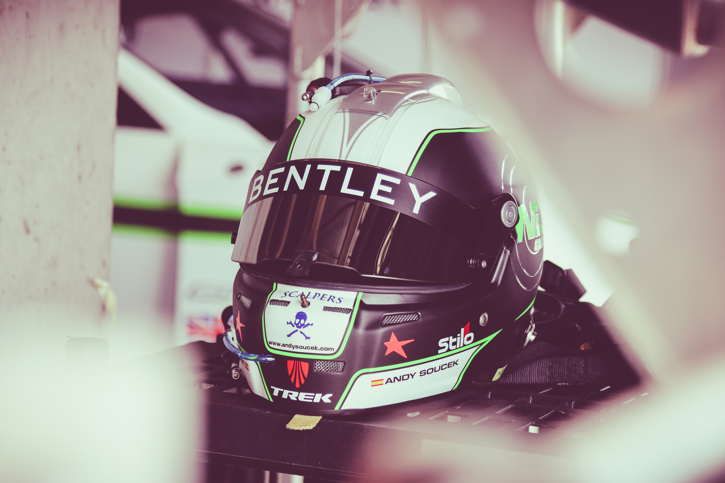 Andy Soucek and Bentley M-Sport return to the mountain this year as a warm-up to the Blancpain GT Series where they contest the full season.
