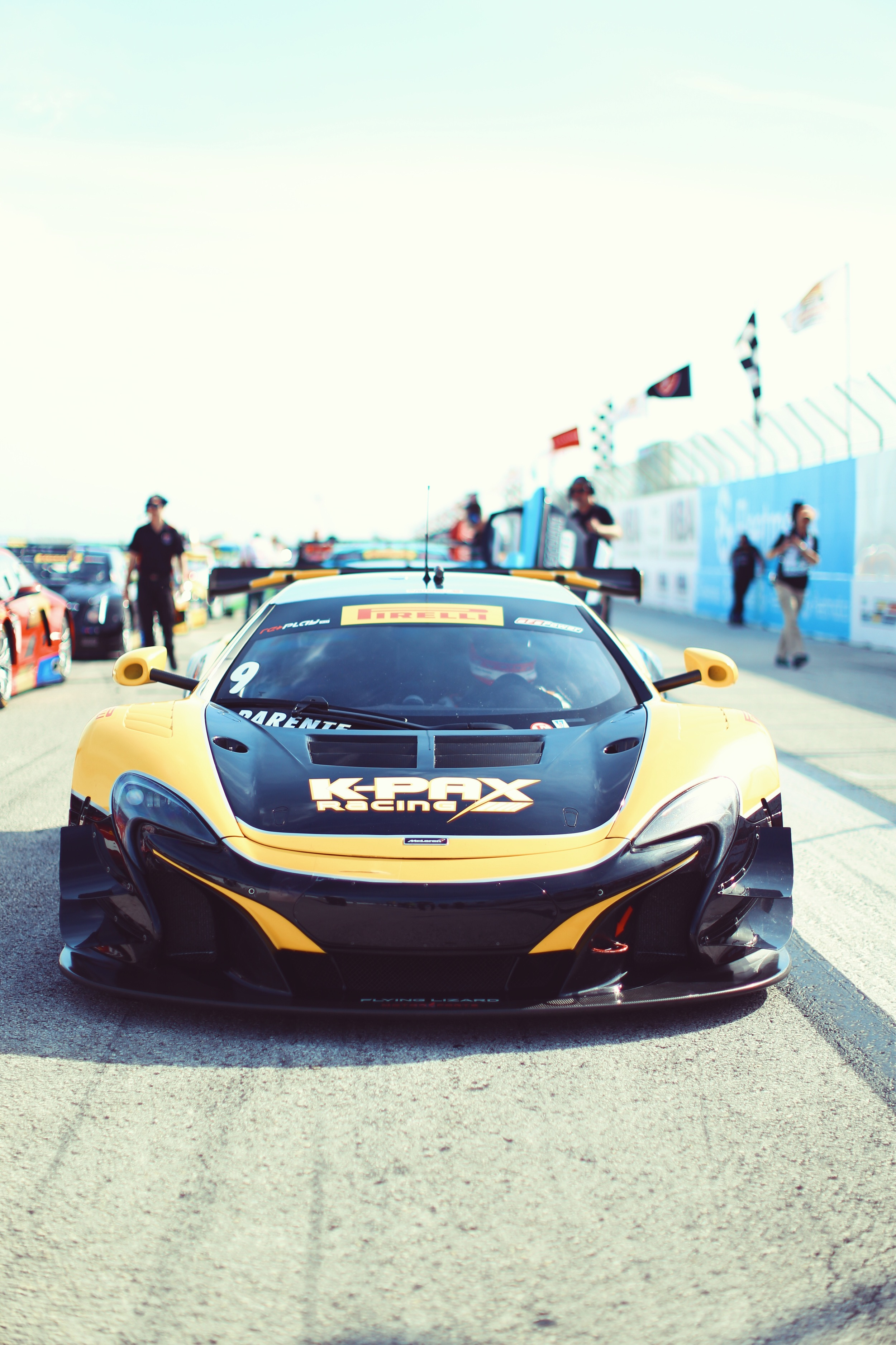 Alvaro Parante in his Kpax Racing McLaren. The team is trying to break into the top 3 in team and manufacturer standings for 2016.