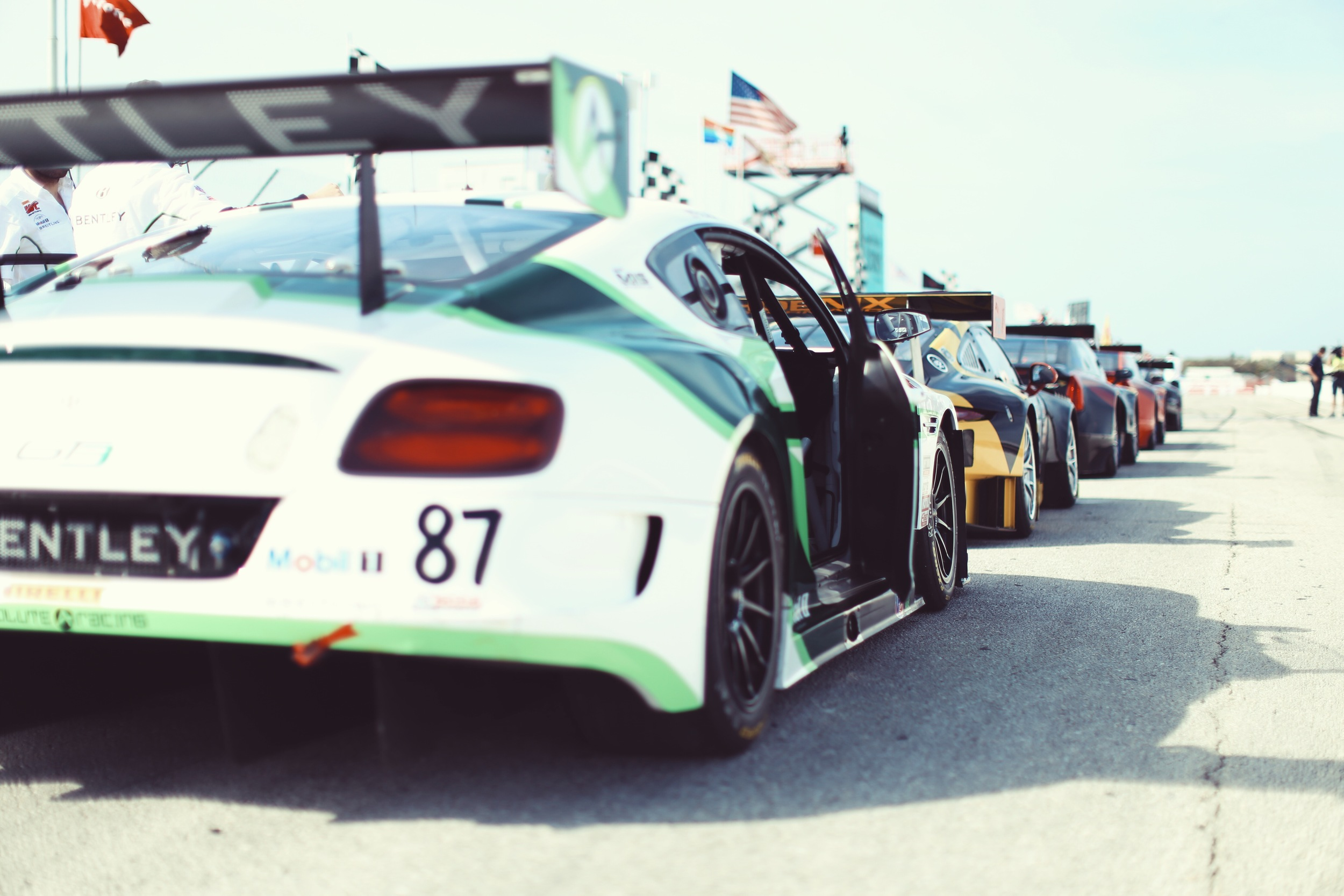 The best thing about the Pirelli World Challenge Series? Variety.