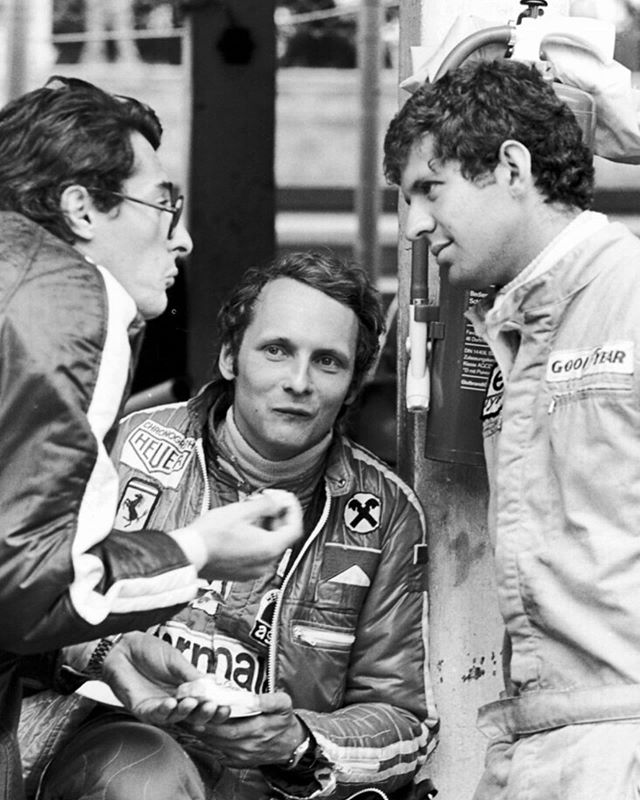 """Do not go gentle into that good night. Rage, rage against the dying of the light."" -Dylan Thomas  Niki Lauda; polymath, entrepreneur and legendary racer...you will be missed."