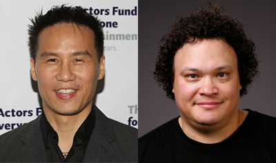 BD Wong (Left) and Adrian Martinez (Right).