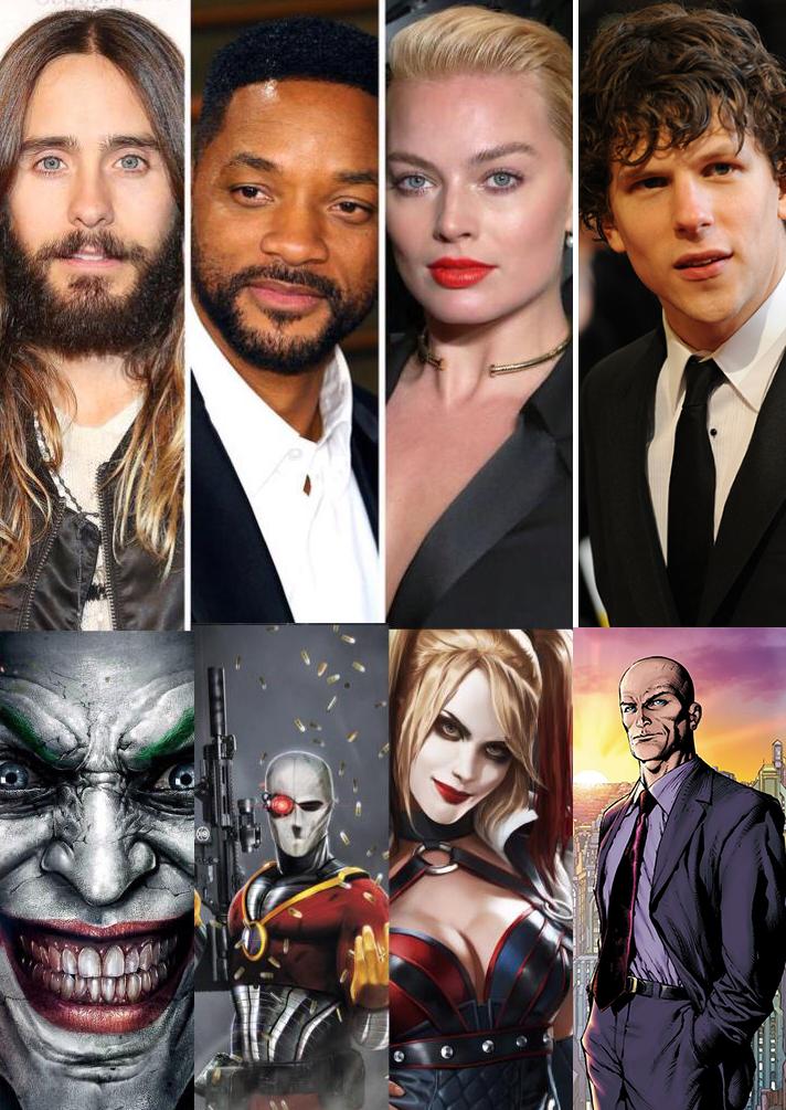 Suicide Squad line-up.