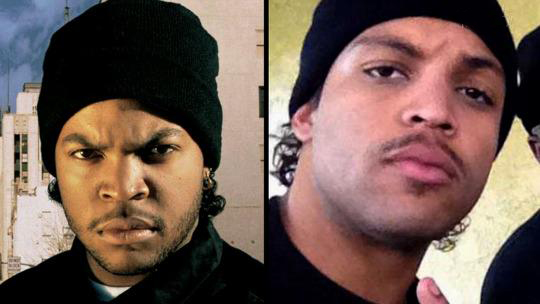 Junior looks like a mix between Cube and a handicapped Drake.